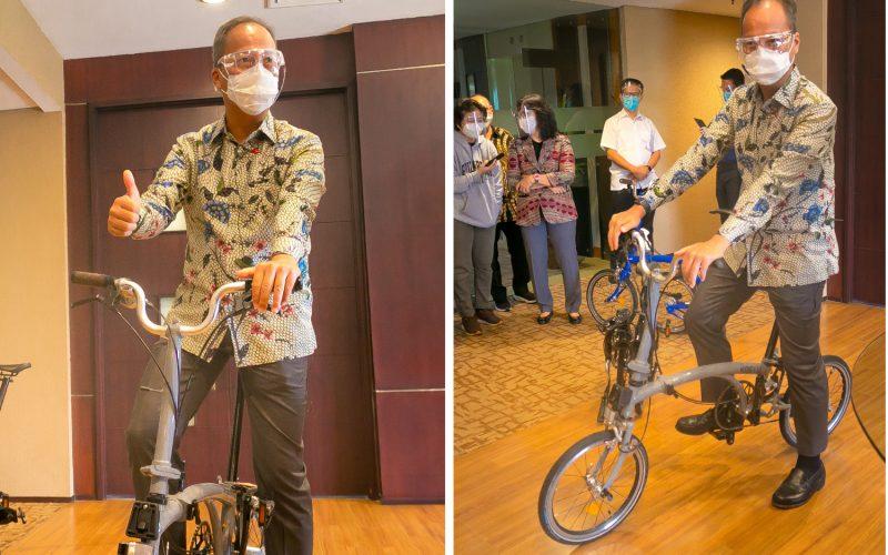 Kemenperin Beri Layanan Sertifikasi Sepeda Buatan Bandung