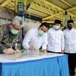 Rampung Renovasi, Walikota Tangerang dan Dirut bank bjb Resmikan Alun-Alun Kota
